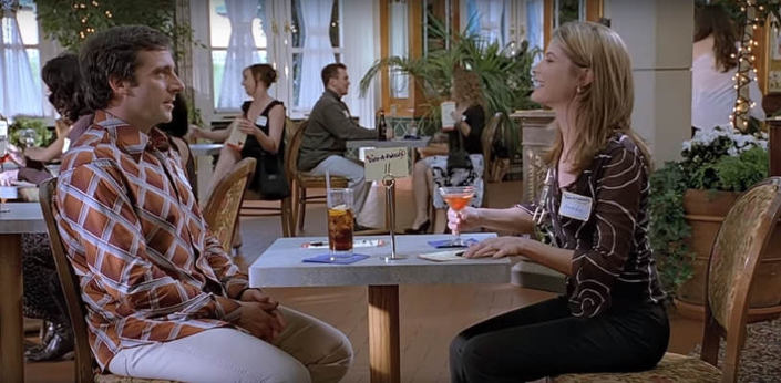 speed dating w popkulturze 40-letni prawiczek