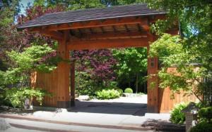 ogród japoński wrocław brama
