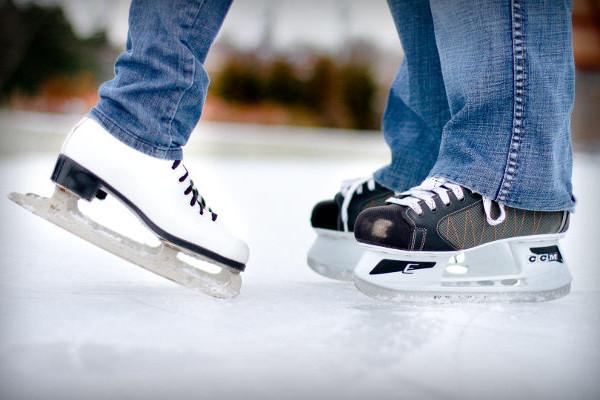 randka na lodowisku